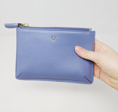 Anya Hindmarch Periwinkle Zip Pouch