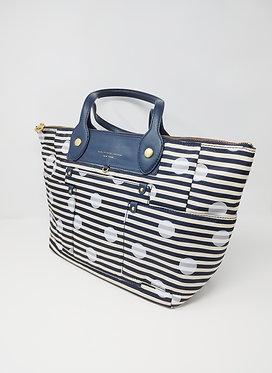 Marc by Marc Jacobs Polka Dot Striped Tote