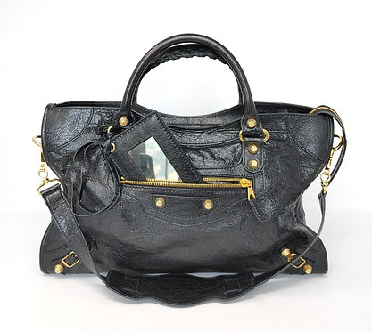 Balenciaga Classic Black Giant 12 City Bag