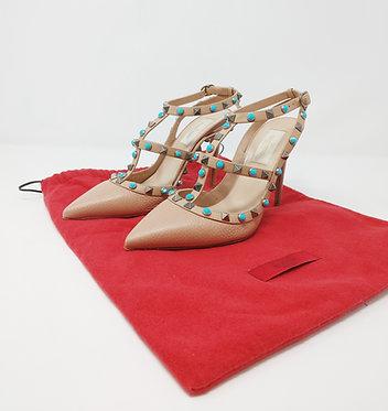 Valentino Rockstud Sandal 37 1/2