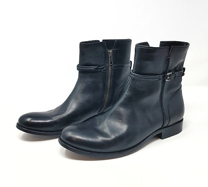 Frye Black Leather Boot 10
