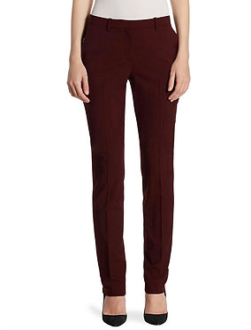 Theory Hartsdale Trouser Dar Currant 4