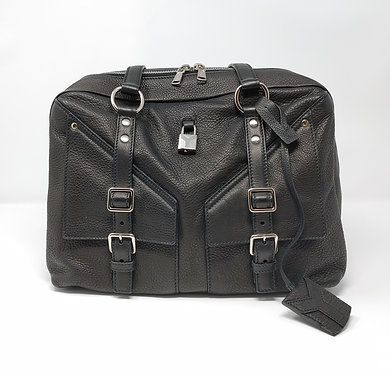Yves Saint Laurent Sac Lover Black Leather