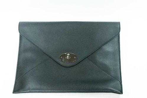 Mulberry Black Large Envelope/Portfolio