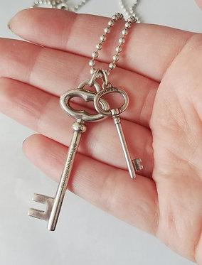Tiffany & Co. Keys on Ball Chain