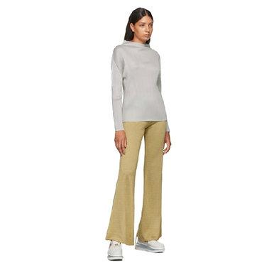 Acne Studios Emi Lurex Trousers Beige Large
