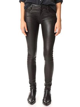 Mackage Black Leather Pant 2