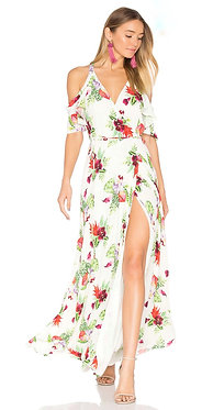 Privacy Please Floral Maxi Wrap Small