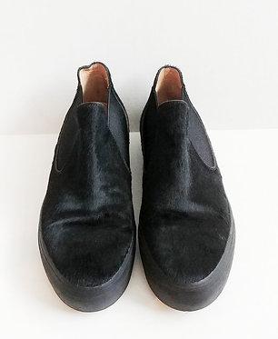 Dries van Noten Calf Hair Slip on Sneaker 39 1/2