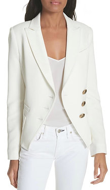 Smythe White Wrap Jacket 8