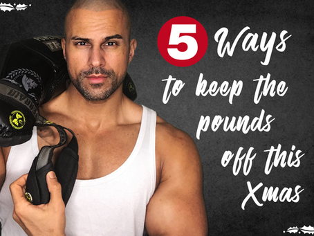 5 Ways to keep the pounds off this Christmas