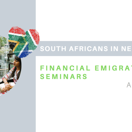 Financial Emigration SEMINARS AND MEETING iN NEW ZEALAND