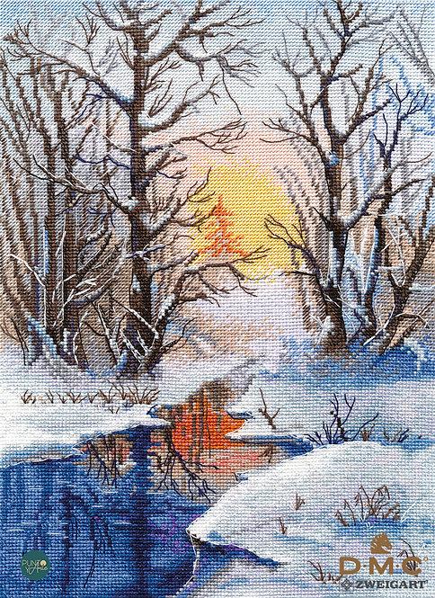 1334 Winter creek - OVEN - Kit de punto de cruz