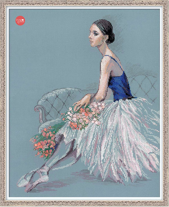 100/054 Ballet Dancer - Riolis - Kit de punto de cruz