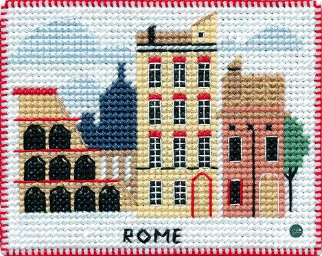 1068 Roma - OVEN - Kit de punto de cruz