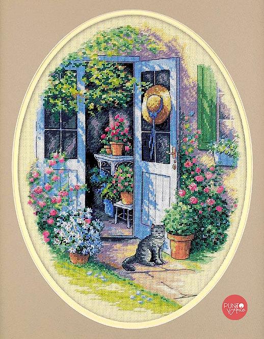 Garden Door - 35124 Dimensions - Kit de punto de cruz