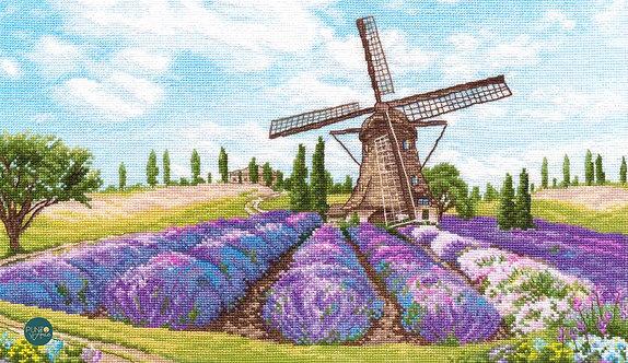 1040 Romance del viento - OVEN - Kit de punto de cruz