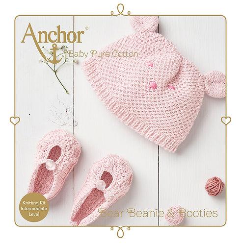 BPC SS20 Hat & Shoes Beige - Anchor - KIT DE GANCHILLO