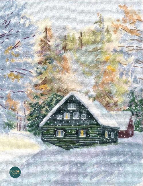 1243 Bosque encantado - OVEN - Kit de punto de cruz