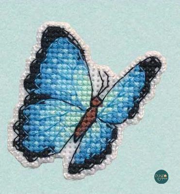 1172 Icono - Morph azul - OVEN - Kit de punto de cruz