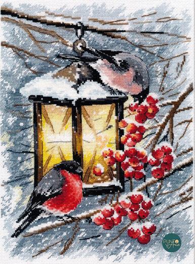1024 Luz de Navidad - OVEN - Kit de punto de cruz