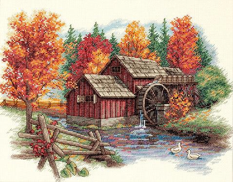 Gloria del otoño - 35199 Dimensions - Kit de punto de cruz