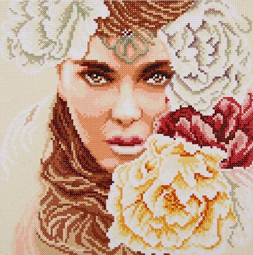Enchanting eyes - Lanarte - Kit para mosaico