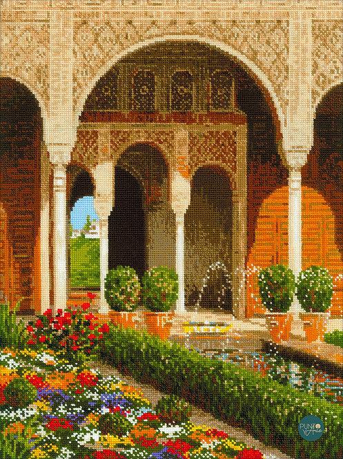 1579 The palace garden - Riolis - Cross stitch kit