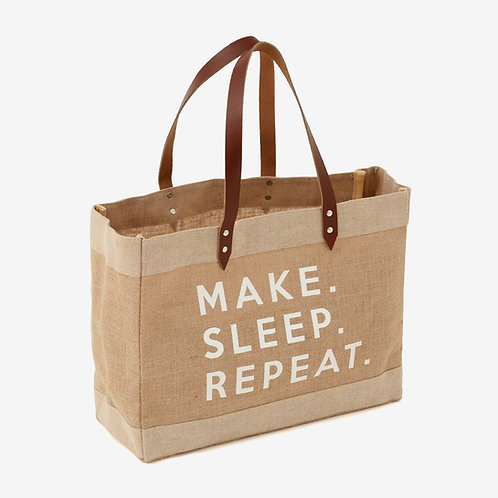 Bolsa de Labores - Make Sleep Repeat - Hobby Gift