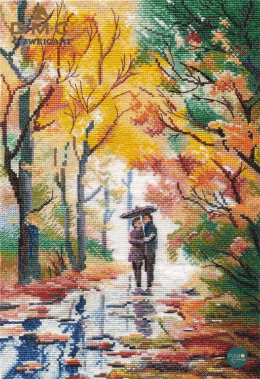 1354 Caminata de otoño - OVEN - Kit de punto de cruz