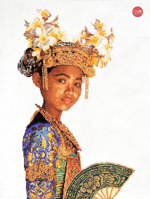 946A Balinese Dancer - Thea Gouverneur - Kit de Punto de Cruz