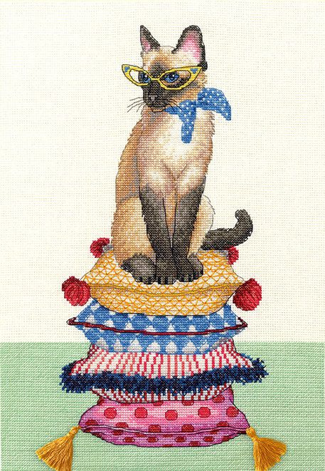 Cat Lady - 70-35367 Dimensions - Kit de punto de cruz