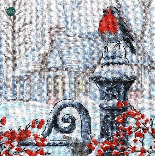 693 Mañana de Navidad - OVEN - Kit de punto de cruz