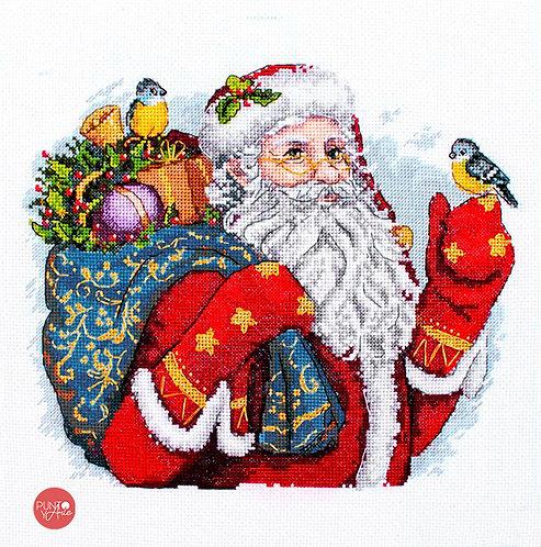 K-123 ¡Feliz Navidad! - Merejka - Kit de punto de cruz