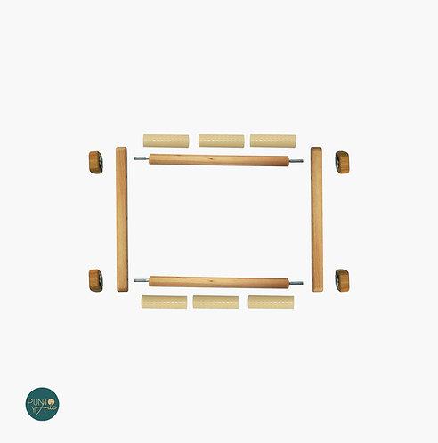 20x24 cm Bastidor Rotatorio - Para Punto de Cruz - Luca-S