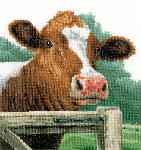 Vaca - Lanarte - Kit de punto de cruz