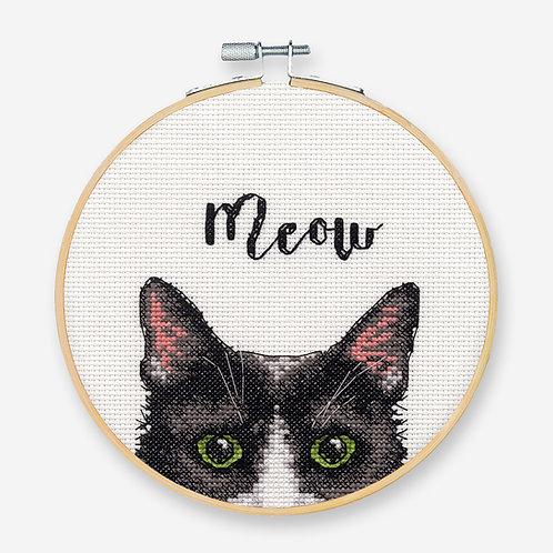 Meow - 72-75983 Dimensions - Kit de punto de cruz