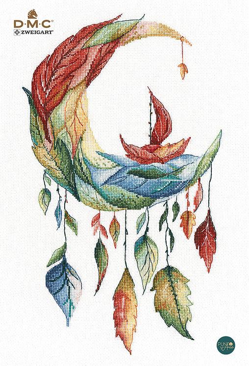 1357 Sueños de otoño - OVEN - Kit de punto de cruz