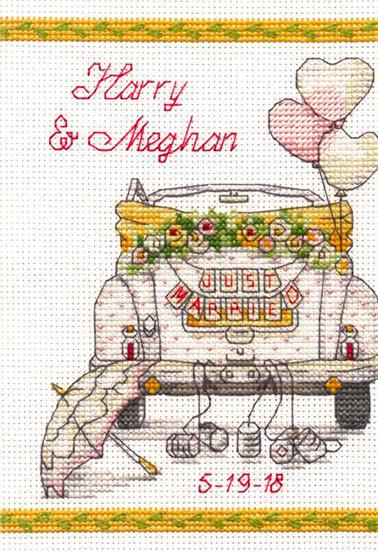 Día de la boda - 70-65185 Dimensions - Kit de punto de cruz