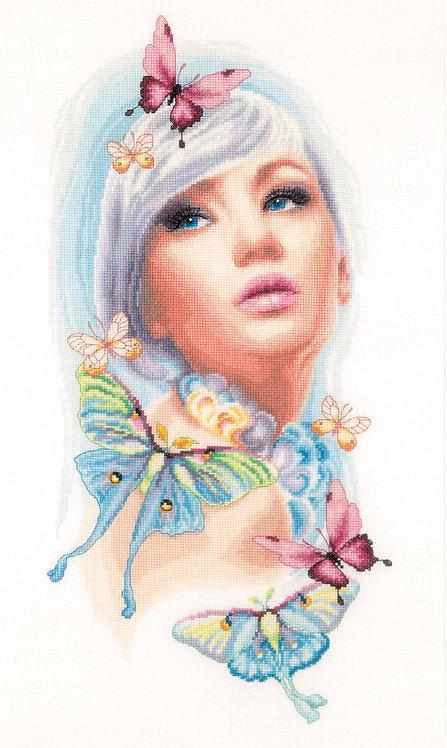 Butterfly Dreams - Lanarte - Kit de punto de cruz