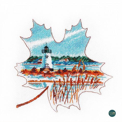 1269 Luz de Edgartown - OVEN - Kit de punto de cruz