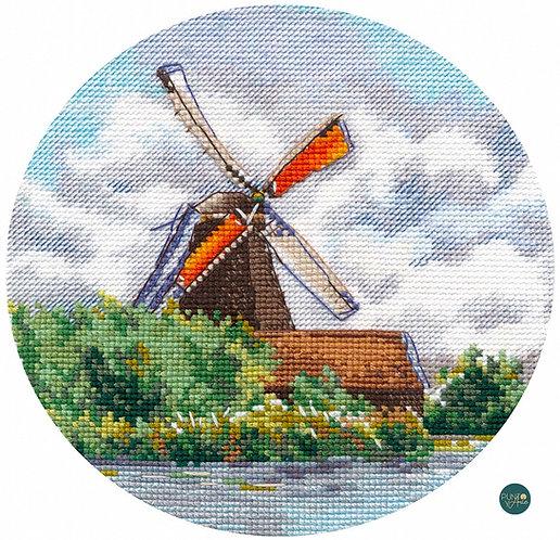 1297 Amapolas en miniatura - OVEN - Kit de punto de cruz