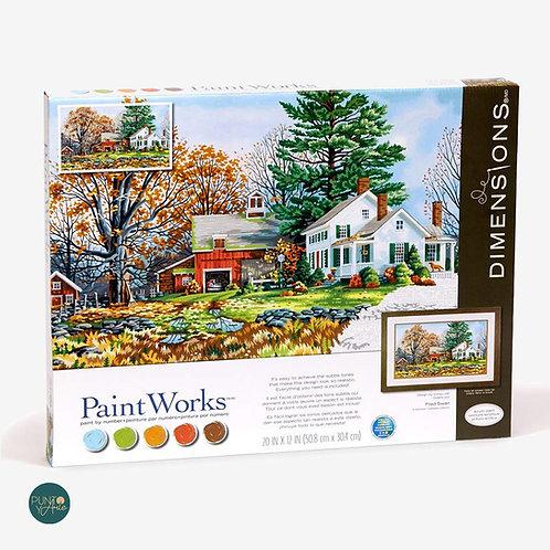 Días preciosos - 73-91652 Dimensions - Kit de Pintura por numero