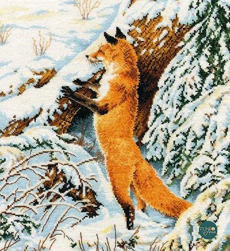 975 Ginger huntress - OVEN - Kit de punto de cruz