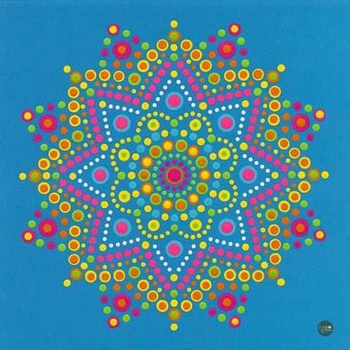 Dot Painting Mandala - 73-91779 Dimensions - Kit de Pintura por nu