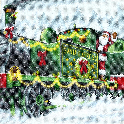 Santa Express - 70-08918 Dimensions - Kit de punto de cruz