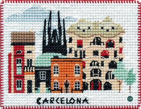 1056 Barcelona - OVEN - Kit de punto de cruz