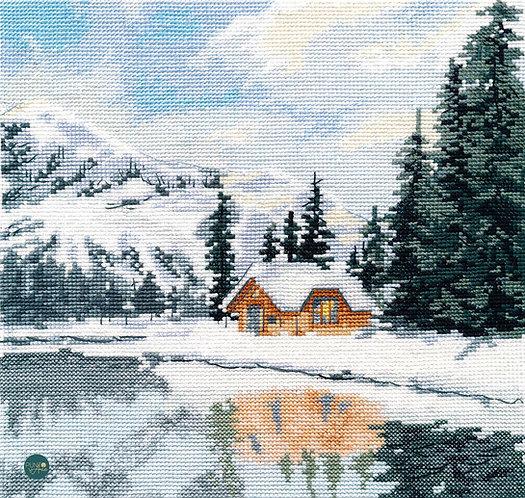1295 Lago Louise - OVEN - Kit de punto de cruz