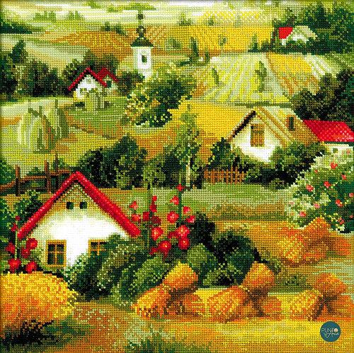 1569 Paisaje Serbio - Riolis - Kit de punto de cruz