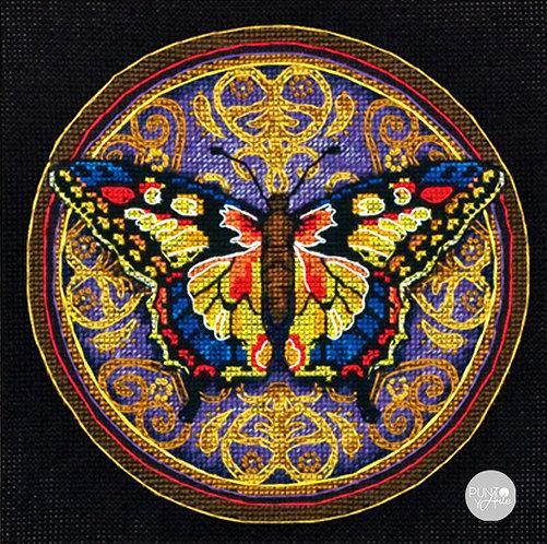 Mariposa Adornada - 65095 Dimensions - Kit de punto de cruz